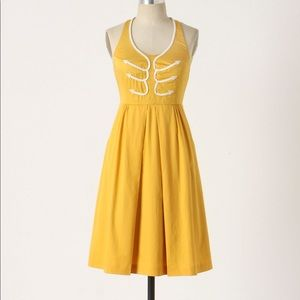 Anthropologie | Floreat Anchors Aweigh Dress